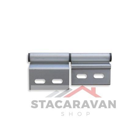 Genoeg Aluminium deurscharnier, rechtsdraaiend. - Stacaravan Shop HJ22
