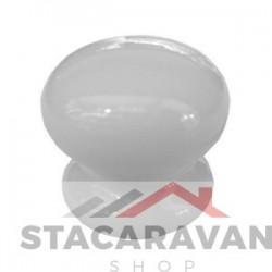 Keramische knop 35mm wit