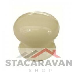Keramische knop 35mm Ivory