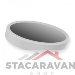 Handvat klinknagel cap voor de oude stijl Crystal raamgreep, wit