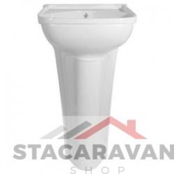 Klein bassin compleet met standaard afval 365mm