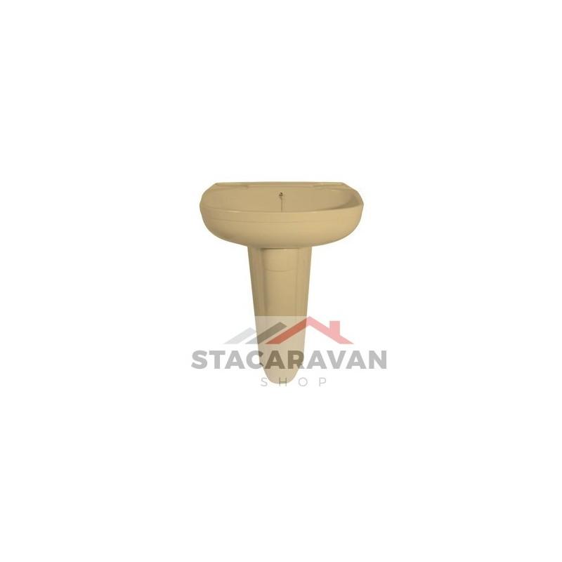 Zuil voor wasbak K250 Kleur Perzik  Stacaravan Shop Stacaravan Onderdelen # Wasbak Zuil_225111