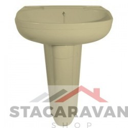 Zuil voor wasbak K250  Kleur: Ivory