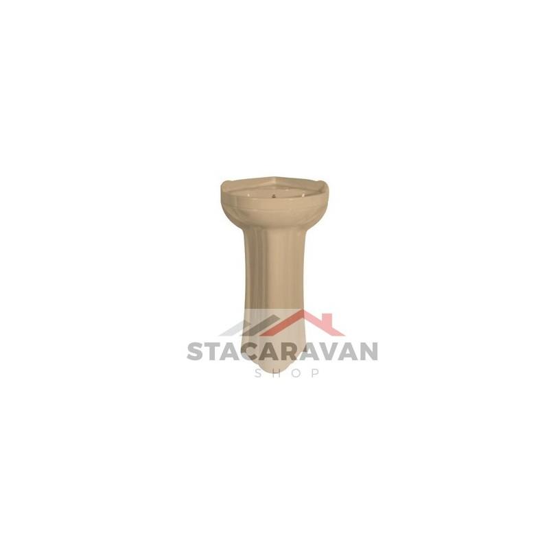 Nimbus hoek zuil voor wasbak K862 kleur Perzik  Stacaravan Shop Stacaravan  # Wasbak Zuil_225111