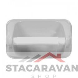 Badkamer toiletrolhouder 185mm kleur: wit