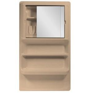 Badkamerkastje - 2 spiegels 540mmx950mmx115mm Perzik - Stacaravan ...