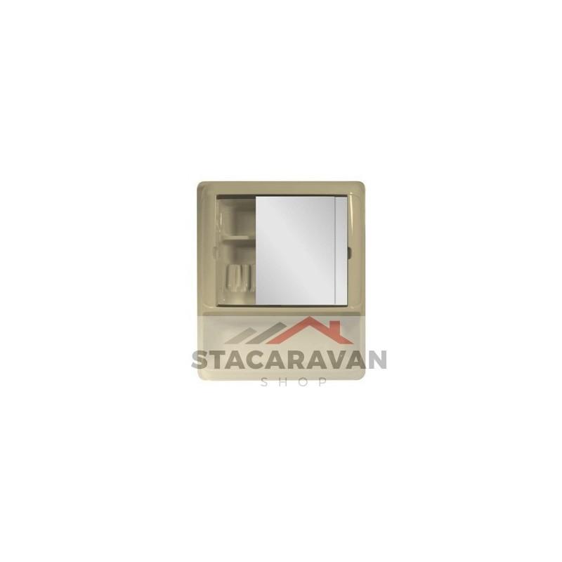 Badkamer set 2 spiegels 644mm soft cremé - Stacaravan Shop ...