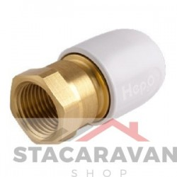 "Hepworth female adapter 1/2 ""tot 15 mm"