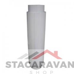 Twin ommuurde interne kachelpijp voor boilers, 420mm / 350mm
