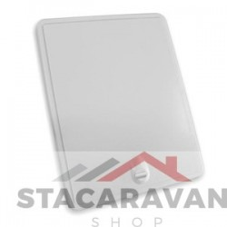 Toegangsdeur paneel en frame wit pinch lock