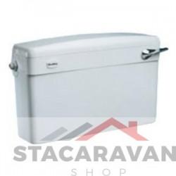 Slimline stortbak 508mm x 152mm x 318mm kleur: wit