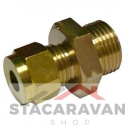 "15mm x 1/2 ""Koper aan male BSP."