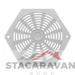 Plastic zeshoek ventilator