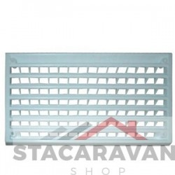 Plastic interieur grill ventilator 5500 mm² wit
