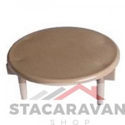 vloerventilatie deksel 54mm diameter beige