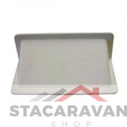 Plastic vloer / muur ventilatie afschermer