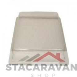 Perspex kunststof dakluik kap 35x45cm transparant