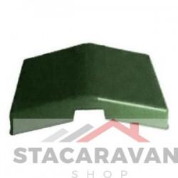 Tegel effect daklicht assemblage Graphite green