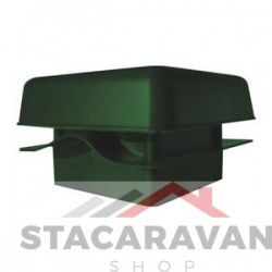 Dakluik met dakpaneffect groen