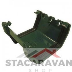 Square Line koppelstuk 112mm voor gut80 kleur: groen