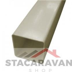 Square  Line regenpijp, 65mm, 2.5M, zandsteen