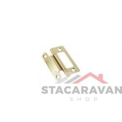 Staln Scharnier Verzinkt 51 x 35mm
