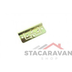 Stalen scharnier model 266 vlak 76 x 33mm