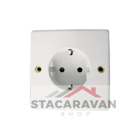 Euro stopcontact enkel