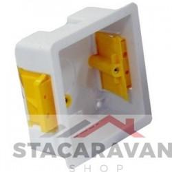 Losse inbouw box wit 35mm