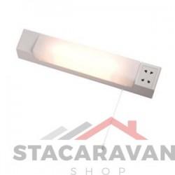 Dubbele spanning buislamp 'scherend licht' 440mm x 70mm