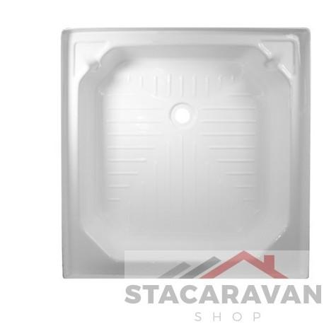 plastic douchebak wit 682mm x 682mm kleur: wit