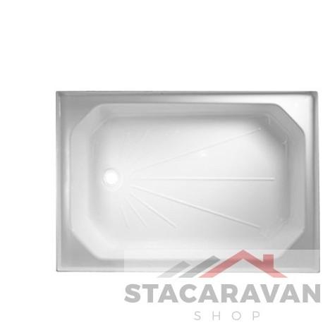 Plastic douchebak  614 mm x 915 mm kleur: wit