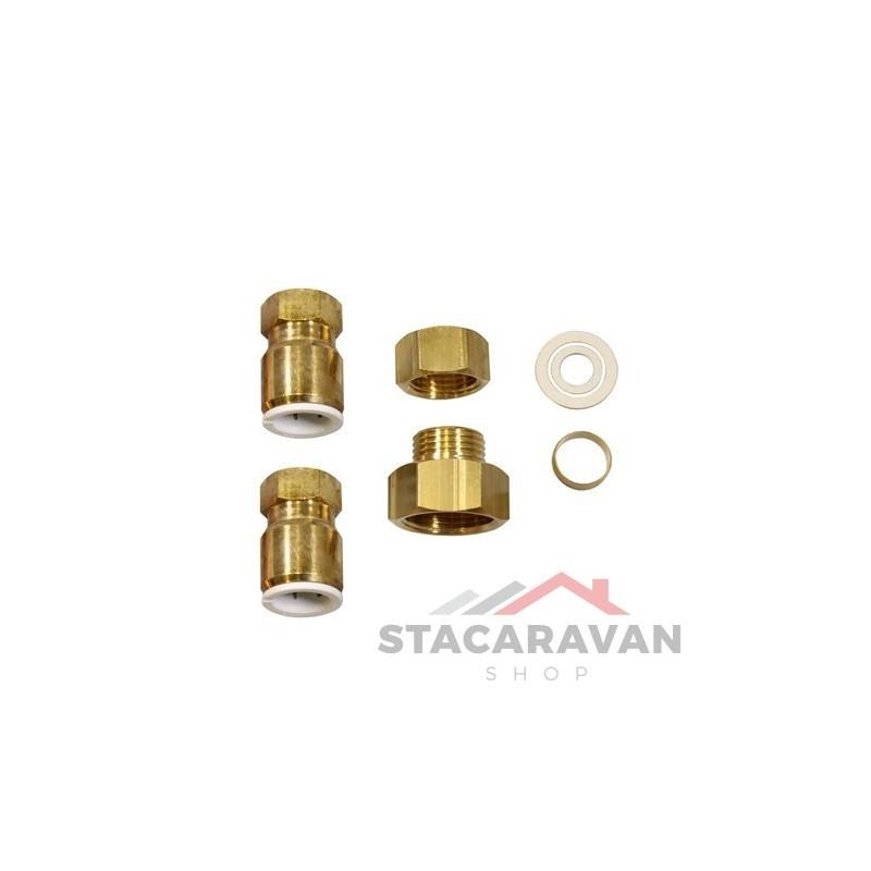 Montage aansluiting voor Morco d61 waterketel  Stacaravan Shop Stacaravan On # Wasbak Montage_202843