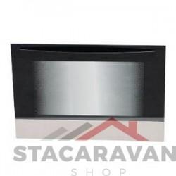 Vervanging ovendeur assemblage, zwart.