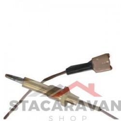 Brander thermokoppel (250MM) soort spade aansluiting (PCC1130)