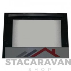 Ovendeur, zwart (SMAO3535.BK)