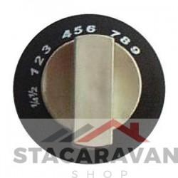 Spinflo ovenbedieningsknop, Black Satin (SPCC0595.SA)