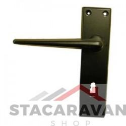 Legged 'R' Type statische deurgrepen zwart