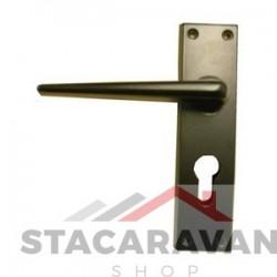 Ellbee Eurolock statische deurgrepen zwart (3662)