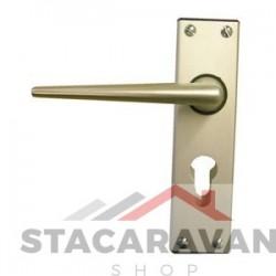 Ellbee Eurolock statische deurgrepen Aluminium (3662)