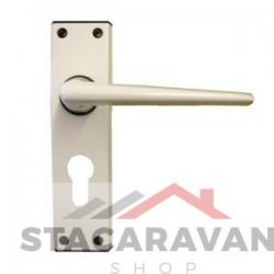 Ellbee Eurolock statische deurgrepen wit (3662)